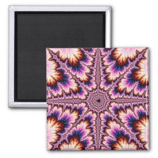 Cruz - imán rosado del fractal