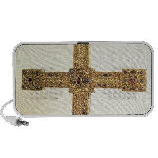 Cruz imperial del Sacro Imperio Romano Laptop Altavoz