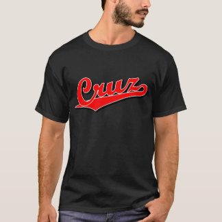 Cruz in red T-Shirt