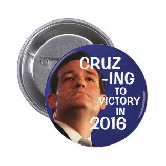 Cruz-ing a la victoria pin