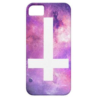 cruz invertida 5/5s del iPhone Funda Para iPhone SE/5/5s