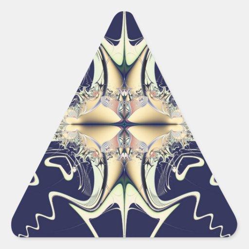 Cruz mágica colcomanias de trianguladas