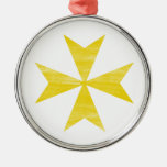 Cruz maltesa ornamentos para reyes magos