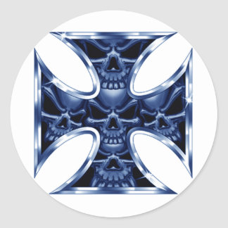 Cruz malvada 2 del hierro etiquetas