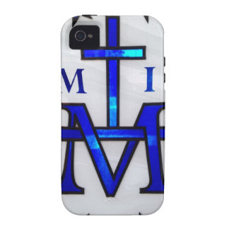 Cruz mariana Case-Mate iPhone 4 carcasas