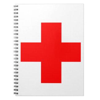 Cruz médica libretas