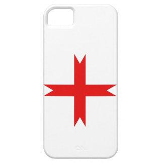 Cruz medieval de los caballeros Templar iPhone 5 Funda