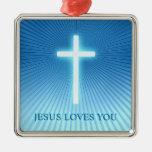 Cruz - ornamento cristiano adorno de reyes