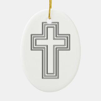 Cruz - ornamento cristiano ornamentos para reyes magos