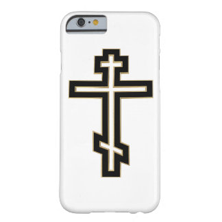 Cruz ortodoxa rusa funda barely there iPhone 6