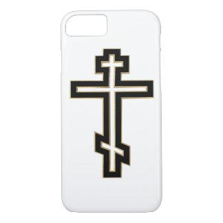 Cruz ortodoxa rusa funda iPhone 7