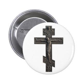 Cruz ortodoxa rusa pins