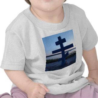 Cruz ortodoxa rusa camiseta