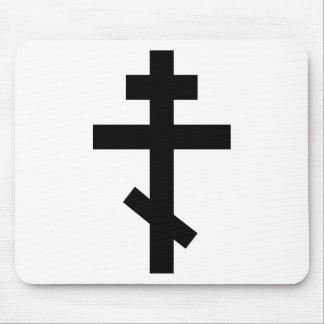 Cruz ortodoxa tapetes de raton