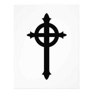 Cruz presbiteriana membrete personalizado