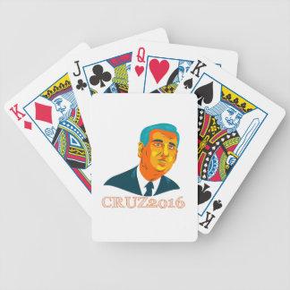 Cruz President 2016 Republican WPA Bicycle Playing Cards