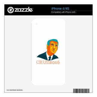 Cruz President 2016 Republican WPA iPhone 4S Skins