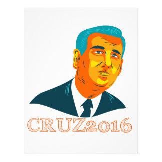 Cruz President 2016 Republican WPA Letterhead