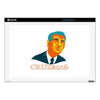 "Cruz President 2016 Republican WPA Skins For 17"" Laptops"