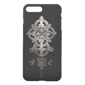 Cruz procesional etíope con monograma funda para iPhone 7 plus