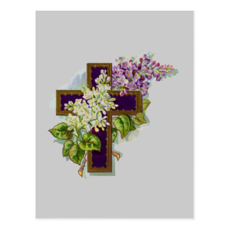 Cruz púrpura de Christan Postales