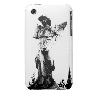 Cruz que lleva del ángel iPhone 3 fundas