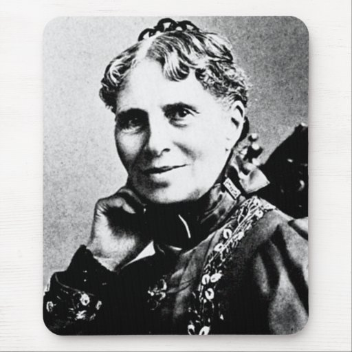 Cruz Roja americana del fundador de Clara del ~ de Alfombrilla De Ratón