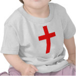 Cruz (roja) camiseta
