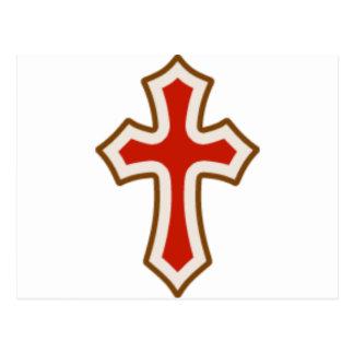 Cruz roja de Pascua Postales