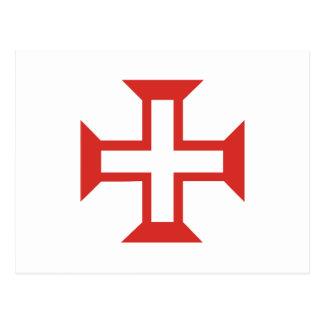 Cruz roja de Templar Postales