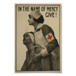 Cruz Roja de WWI Poster