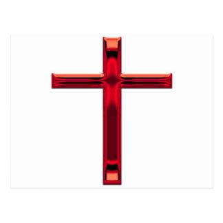 Cruz Roja del arte de Digitaces Postal