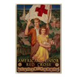 Cruz Roja menor americana Poster