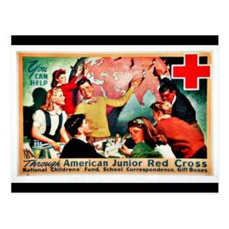 Cruz Roja menor americana Postales
