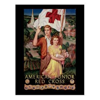 Cruz Roja menor americana Tarjetas Postales