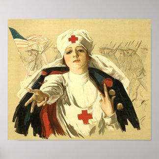 Cruz Roja Poster