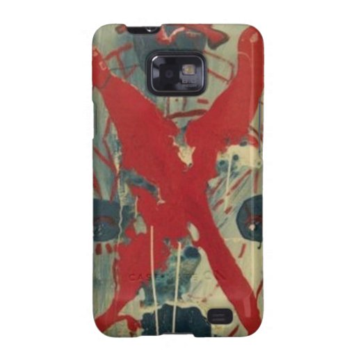CRUZ ROJA SAMSUNG GALAXY S2 FUNDA