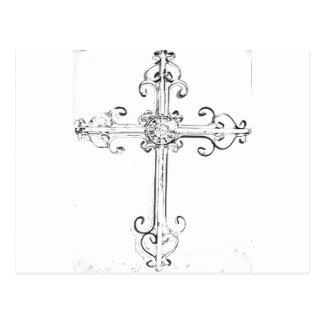 cruz rugosa postal