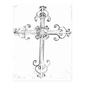 cruz rugosa tarjetas postales