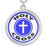 Cruz santa collar personalizado