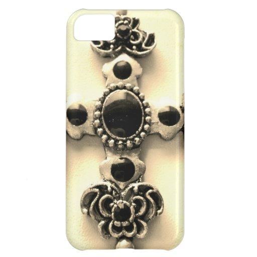 Cruz santa funda para iPhone 5C