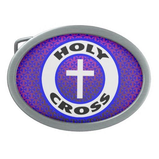 Cruz santa hebillas cinturon