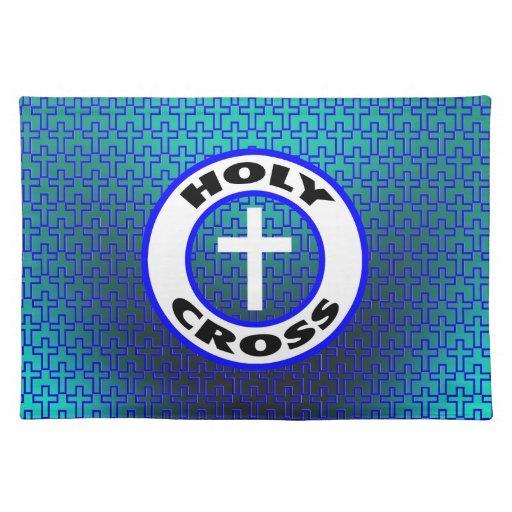 Cruz santa manteles individuales