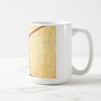 Cruz tallada, San Miguel, México, taza de café