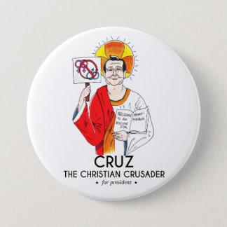 Cruz the Christian Crusader Pinback Button