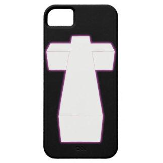 cruz tridimensional de la nebulosa de la cadera funda para iPhone SE/5/5s
