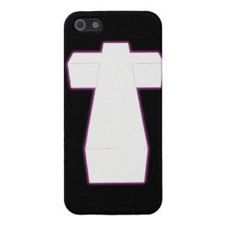 cruz tridimensional de la nebulosa de la cadera iPhone 5 carcasas