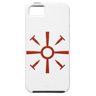 Cruz uñas cross nails iPhone 5 carcasas