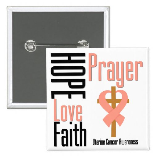 Cruz uterina del rezo de la fe del amor de la espe pins