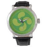 Cruz vasca elegante y elegante: Lauburu, Relojes De Pulsera